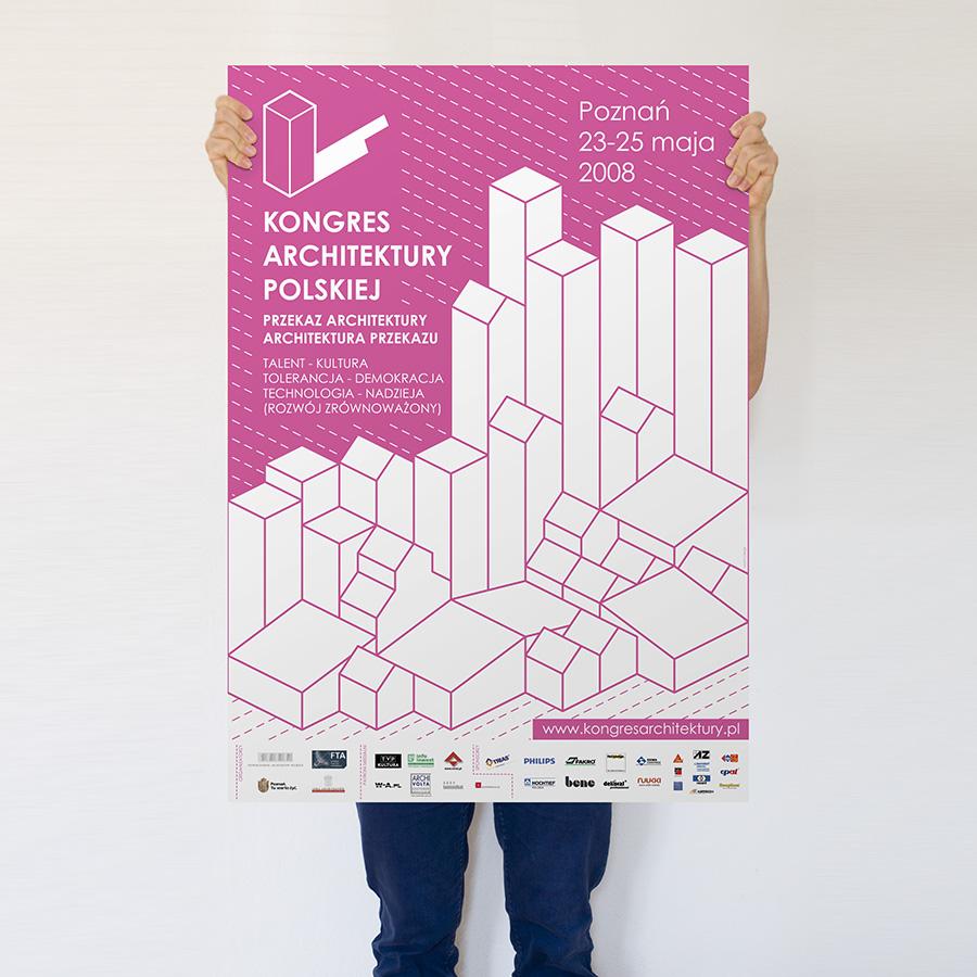 kongres-architektury-polskiej-poster