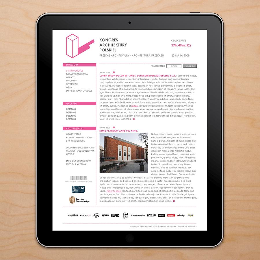 kongres-architektury-polskiej-web-site-design