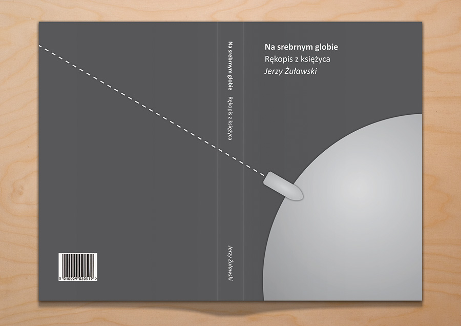 na-srebrnym-globie-book-cover-design