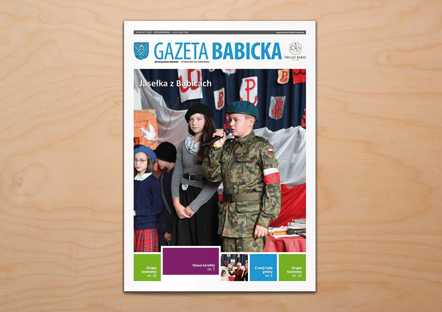 gazeta-babicka-newspaper-cover-design